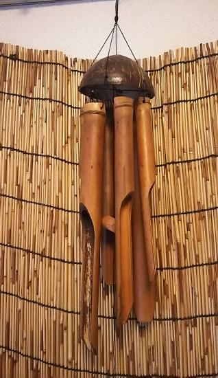インドネシア 竹風鈴 -東南アジア雑貨-